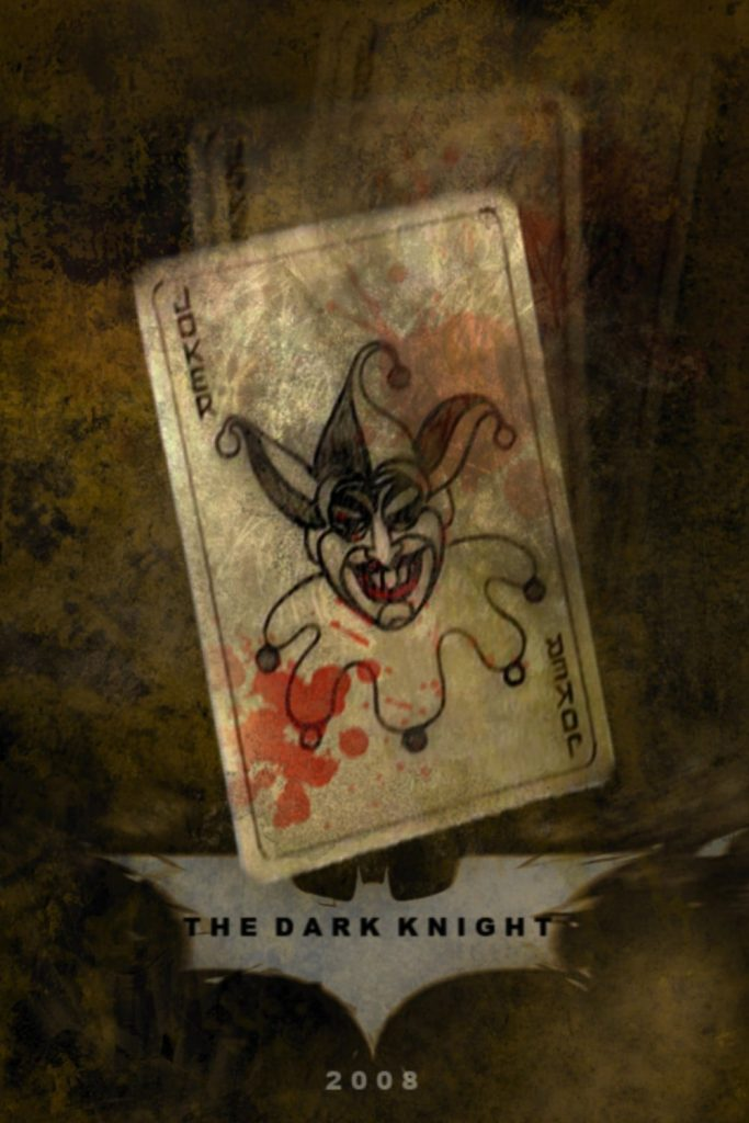 the dark knight poster high quality HD printable wallpapers 2008 joker card