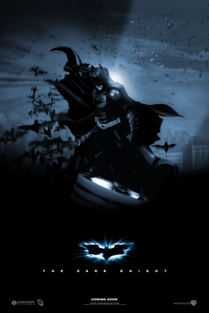 the dark knight poster high quality HD printable wallpapers 2008 batman on bat signal
