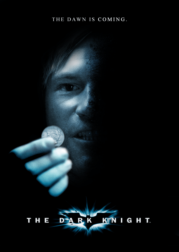 the dark knight poster high quality HD printable wallpapers 2008 harvey dent two face and his coin