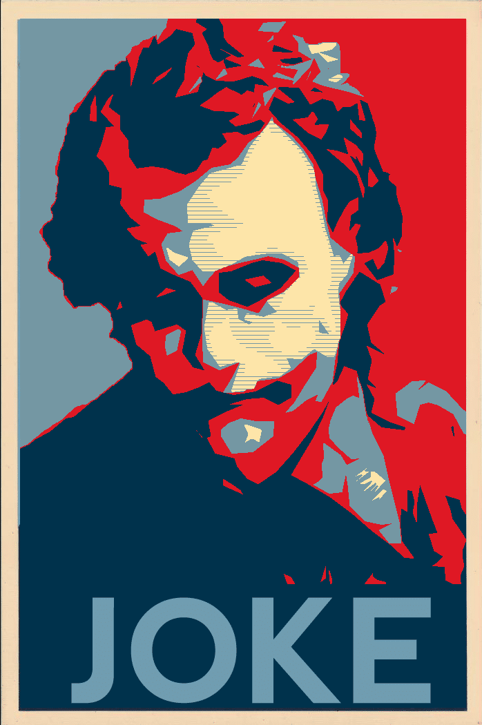 the dark knight poster high quality HD printable wallpapers 2008 obama style joker poster