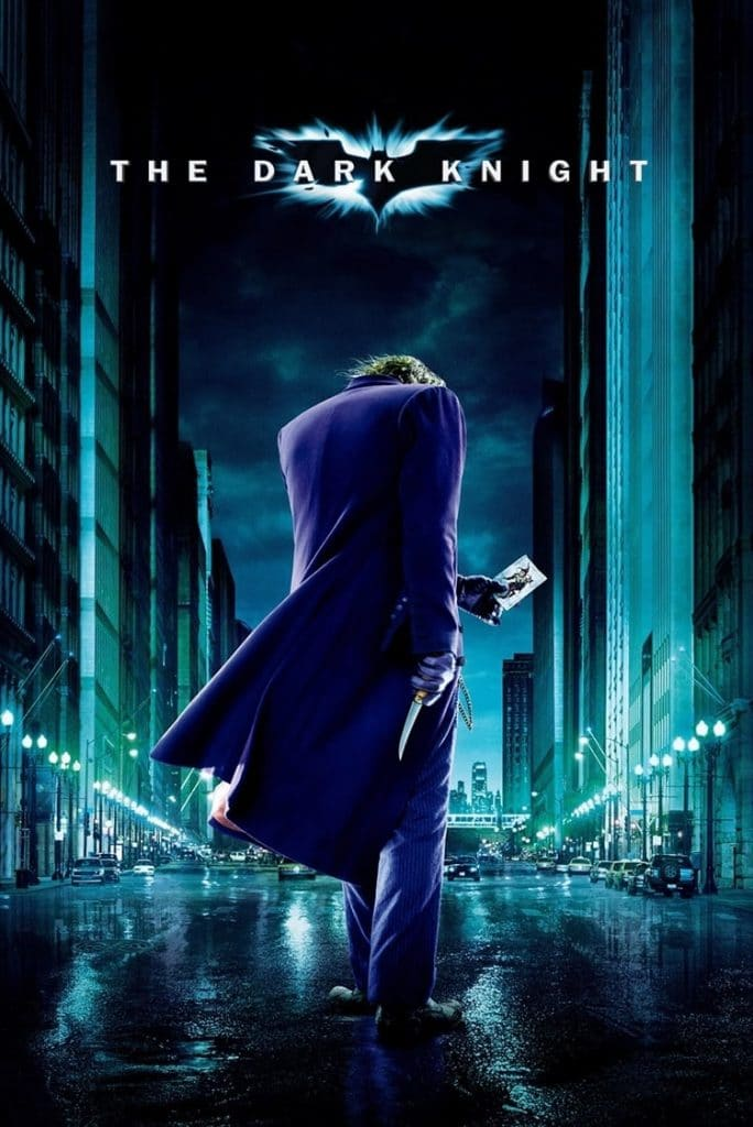 BATMAN DARK KNIGHT POSTER Joker Door Size Poster RARE