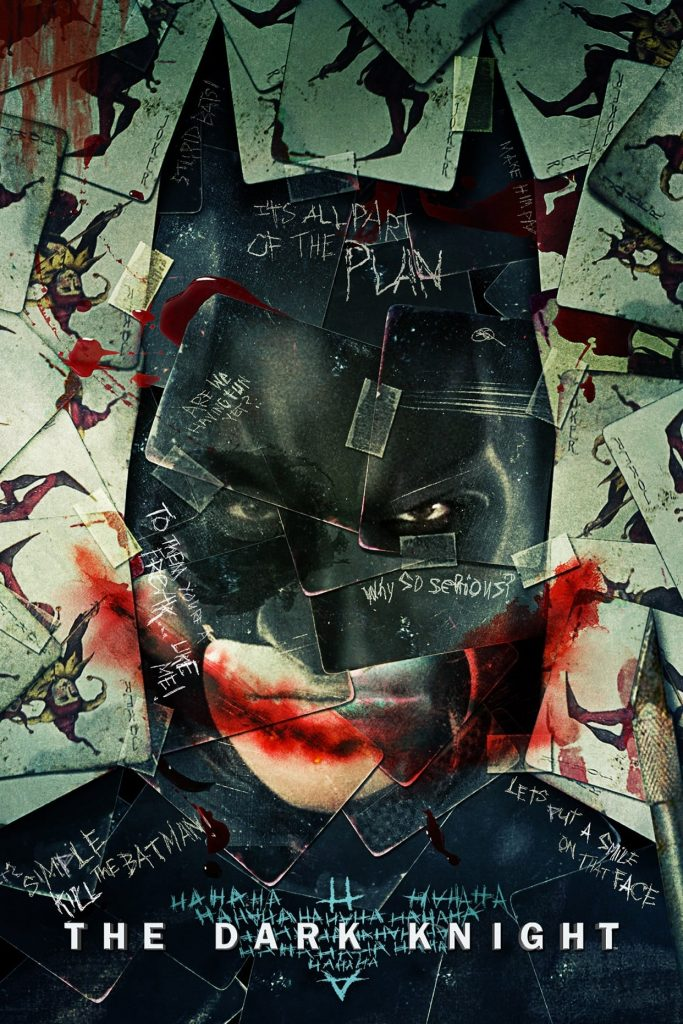 the dark knight poster high quality HD printable wallpapers 2008 batman and joekr faces art animated cartoon