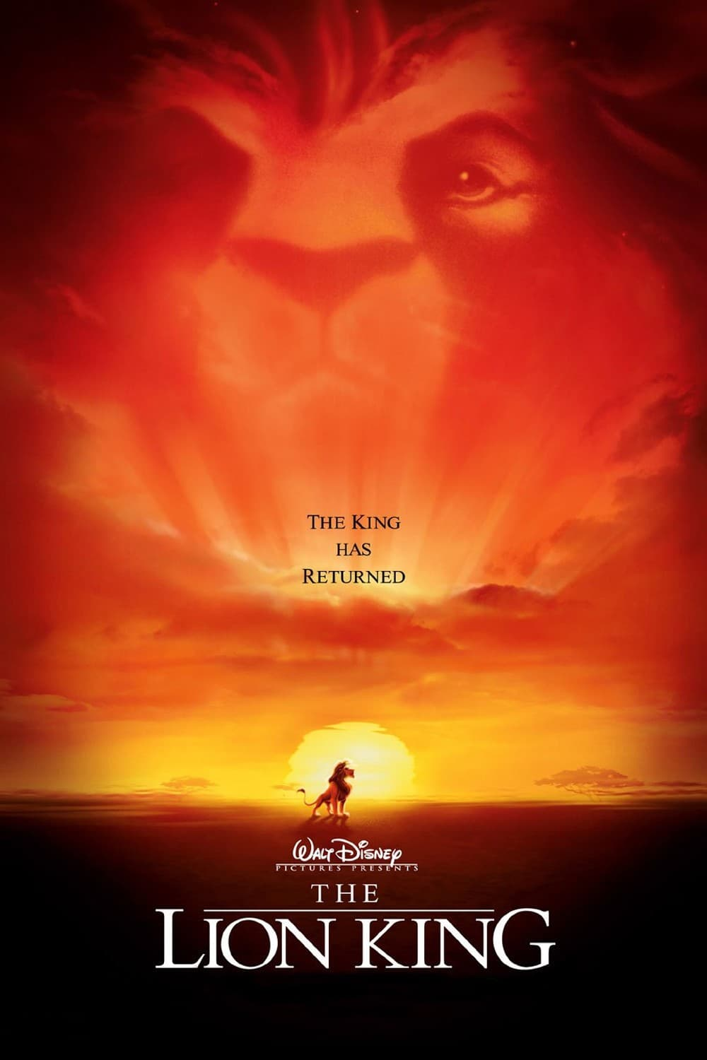 The Lion King Poster 1 1994 High Quality HD Printable Wallpapers Mufasa Soul And Simba