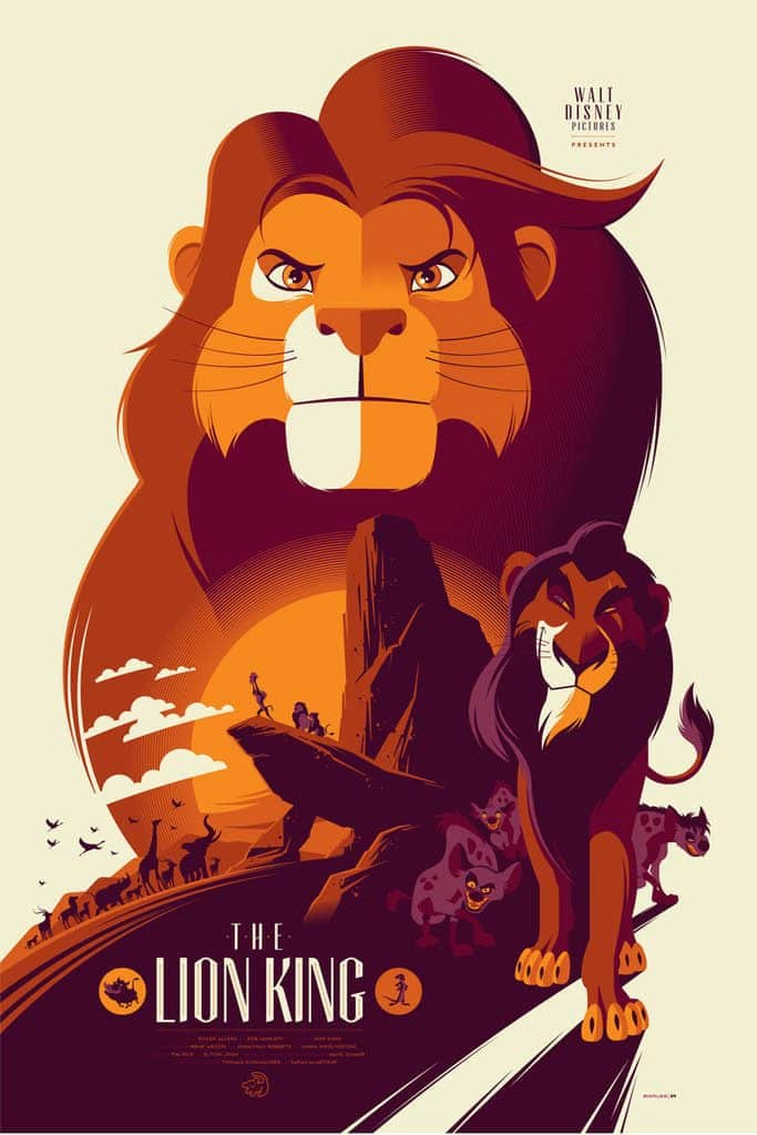 the lion king poster 1 1994 high quality HD printable wallpapers simba scar fan art