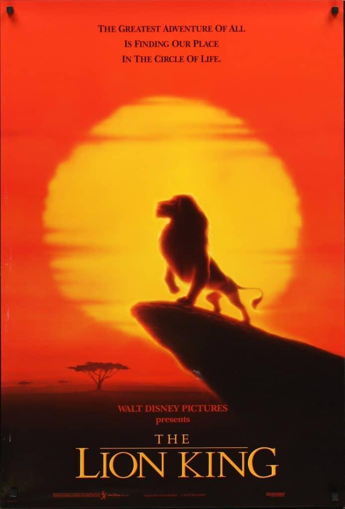 the lion king poster 1 1994 high quality HD printable wallpapers simba won the reign
