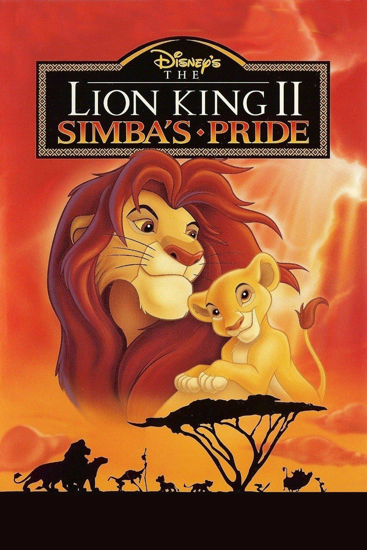 the lion king poster part 2 simbas pride 1998 high quality HD printable wallpapers tv show simba and kiara
