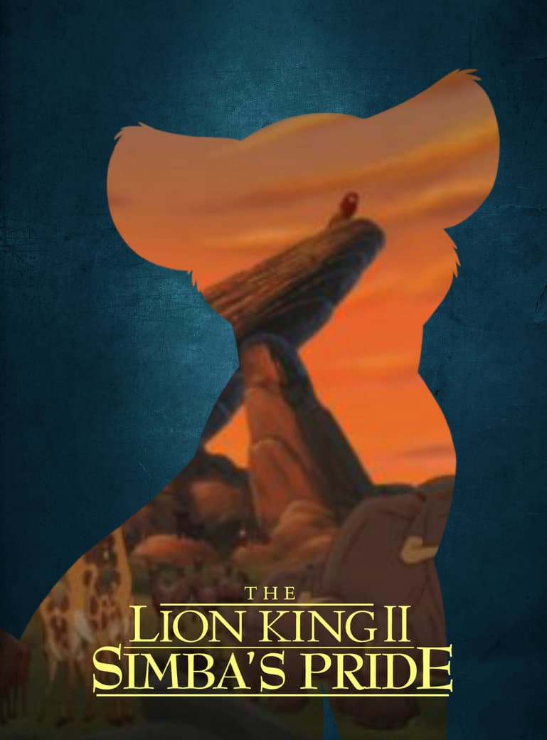 the lion king poster part 2 simbas pride 1998 high quality HD printable wallpapers kiara fan art pride land