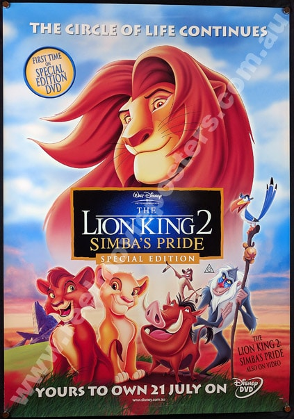 The Lion King Poster: 20+ Printable Posters (Free Download)