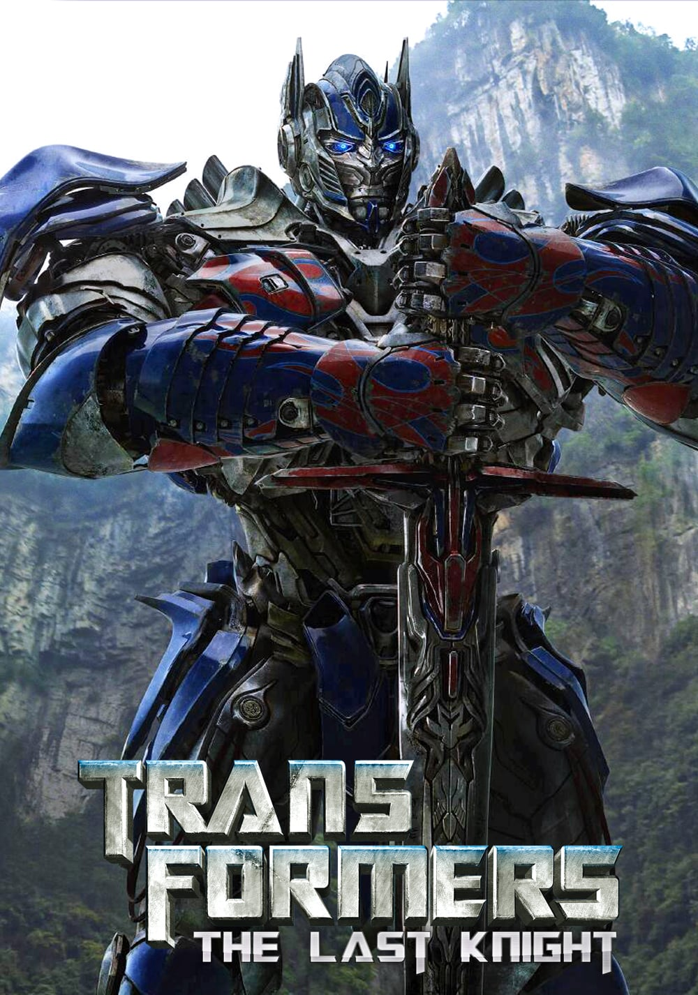 the last knight poster high quality HD printable wallpapers 2017 optimus prime with the sword