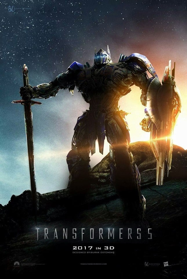 the last knight poster high quality HD printable wallpapers 2017 optimus prime on earth