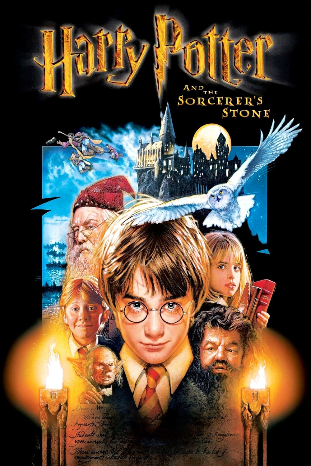 harry potter poster the philosophers stone high quality HD printable wallpapers all characters