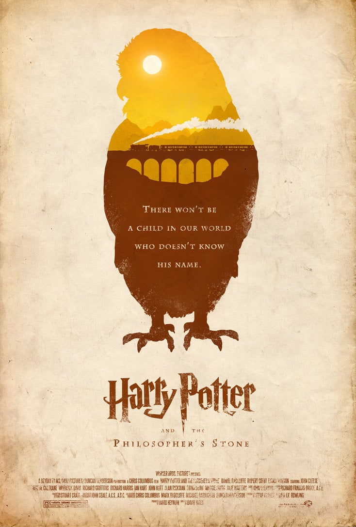 harry potter poster the philosophers stone high quality HD printable wallpapers art cartoon