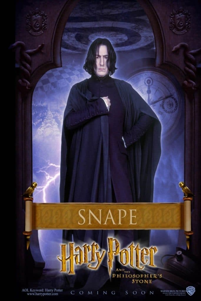 harry potter poster the philosophers stone high quality HD printable wallpapers sevurus snape