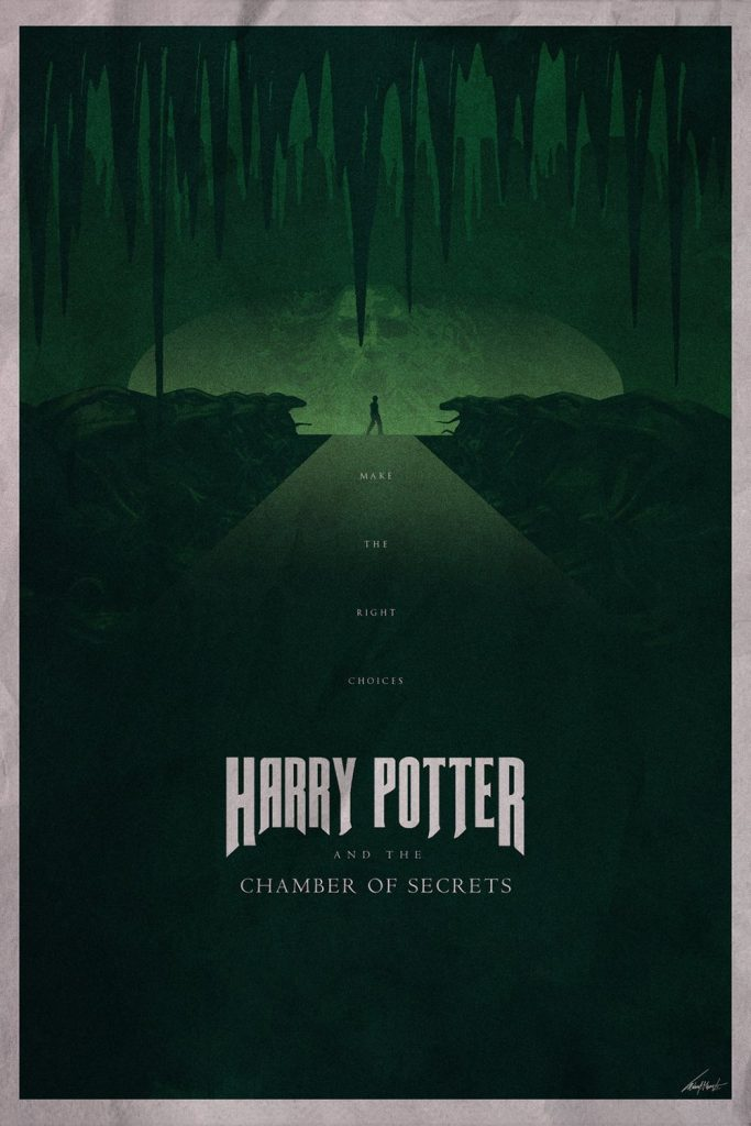 harry potter poster the chamber of secrets 2002 high quality HD printable wallpapers art cartoon animated