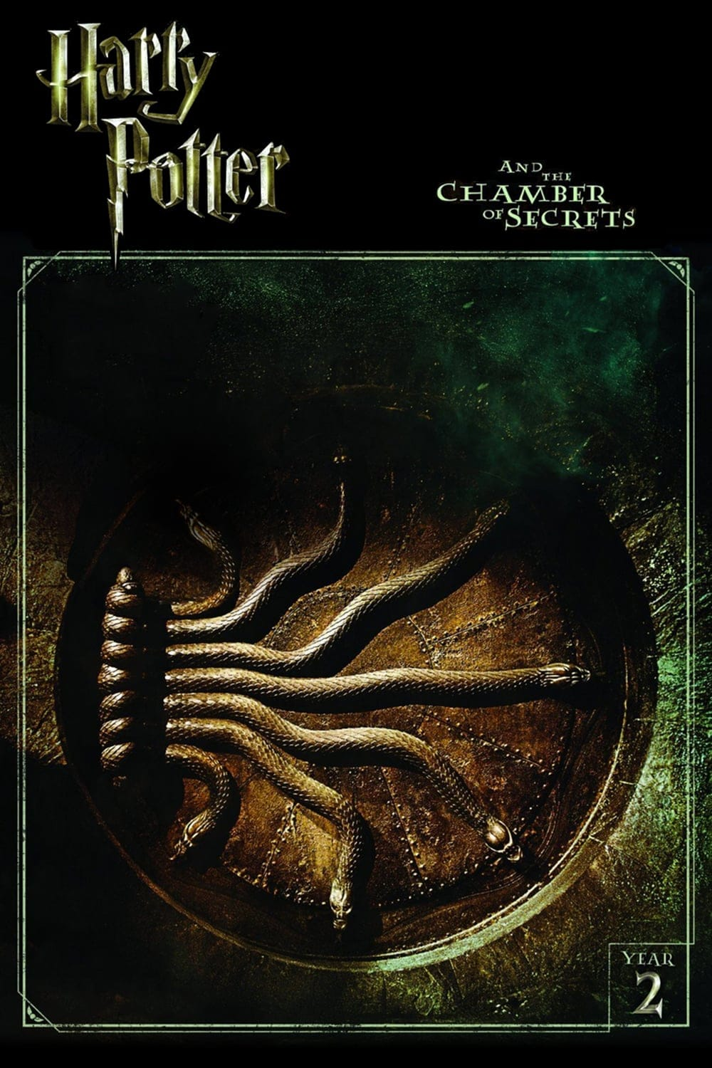 harry potter poster the chamber of secrets 2002 high quality HD printable wallpapers the gate of the chamber