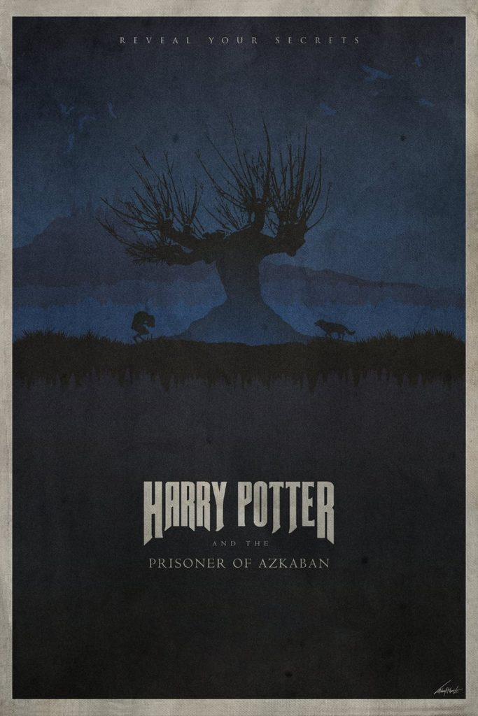 harry potter poster the prisoner of azkaban 2004 high quality HD printable wallpapers art azkaban at night
