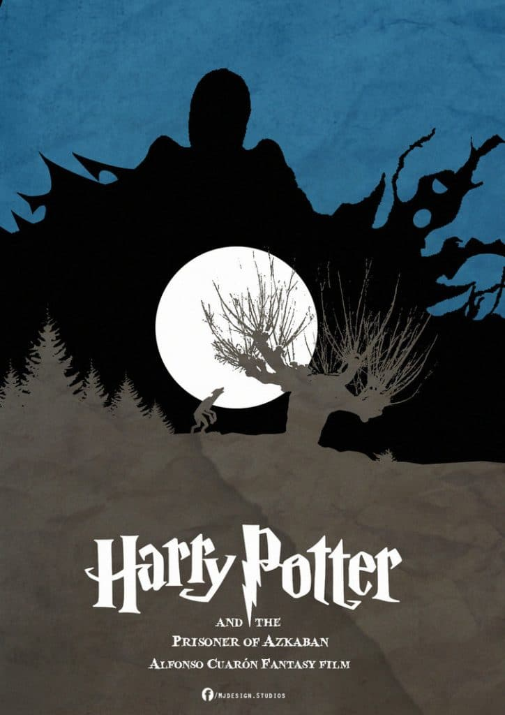 harry potter poster the prisoner of azkaban 2004 high quality HD printable wallpapers art cartoon night at diagen ally