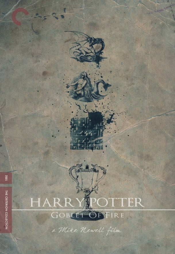 harry potter poster goblet of fire 2005 high quality HD printable wallpapers art old style the goblet