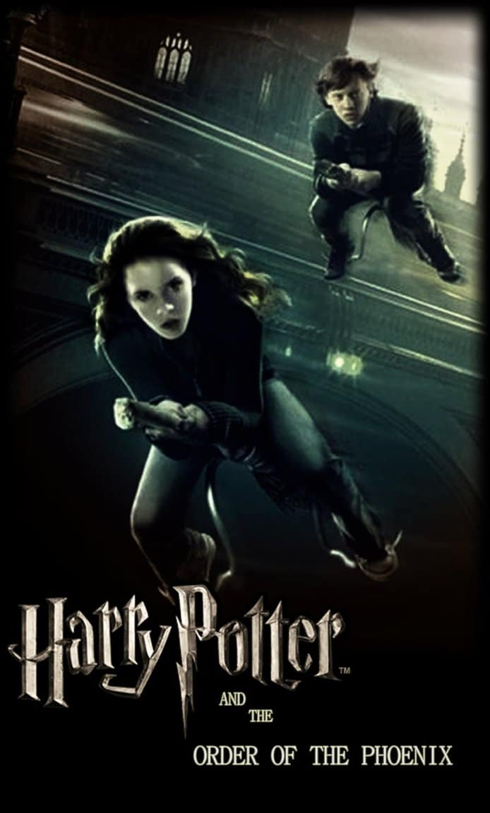 harry potter poster goblet of fire 2005 high quality HD printable wallpapers ron and hermione flying