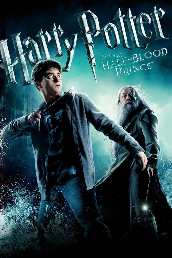 harry potter poster the half blood prince 2009 high quality HD printable wallpapers dumbledore and harry