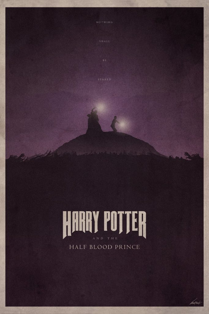 harry potter poster the half blood prince 2009 high quality HD printable wallpapers harry and dumbledore