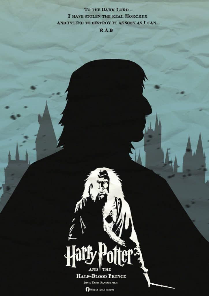 harry potter poster the half blood prince 2009 high quality HD printable wallpapers half blood prince