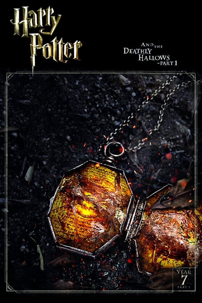 harry potter poster the deathly hallows part 1 2010 high quality HD printable wallpapers the locket