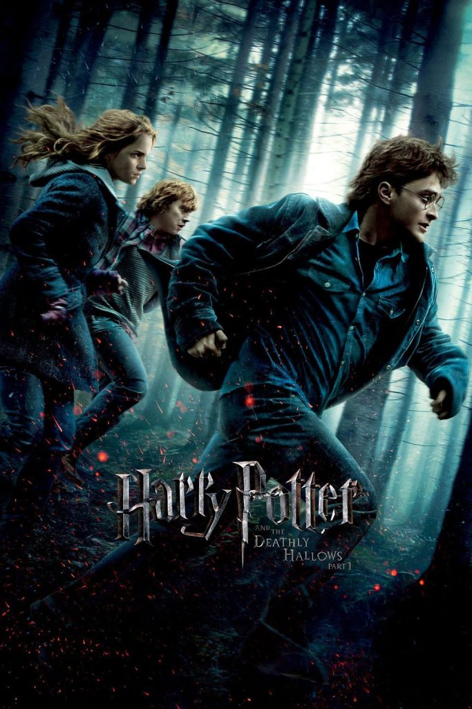 harry potter poster the deathly hallows part 1 2010 high quality HD printable wallpapers harry hermione and ron camping