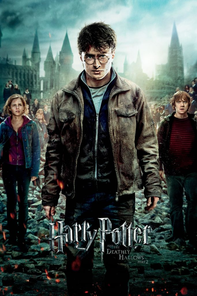 harry potter poster the deathly hallows part 2 2011 high quality HD printable wallpapers harry hermione and ron