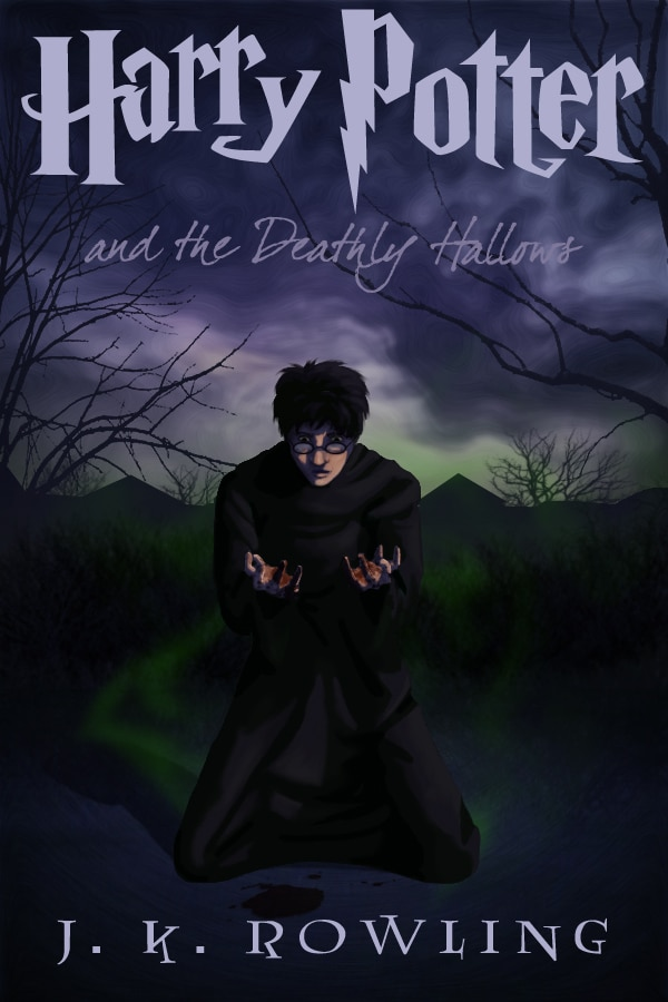 harry potter poster the deathly hallows part 2 2011 high quality HD printable wallpapers crying harry cartoon art animated