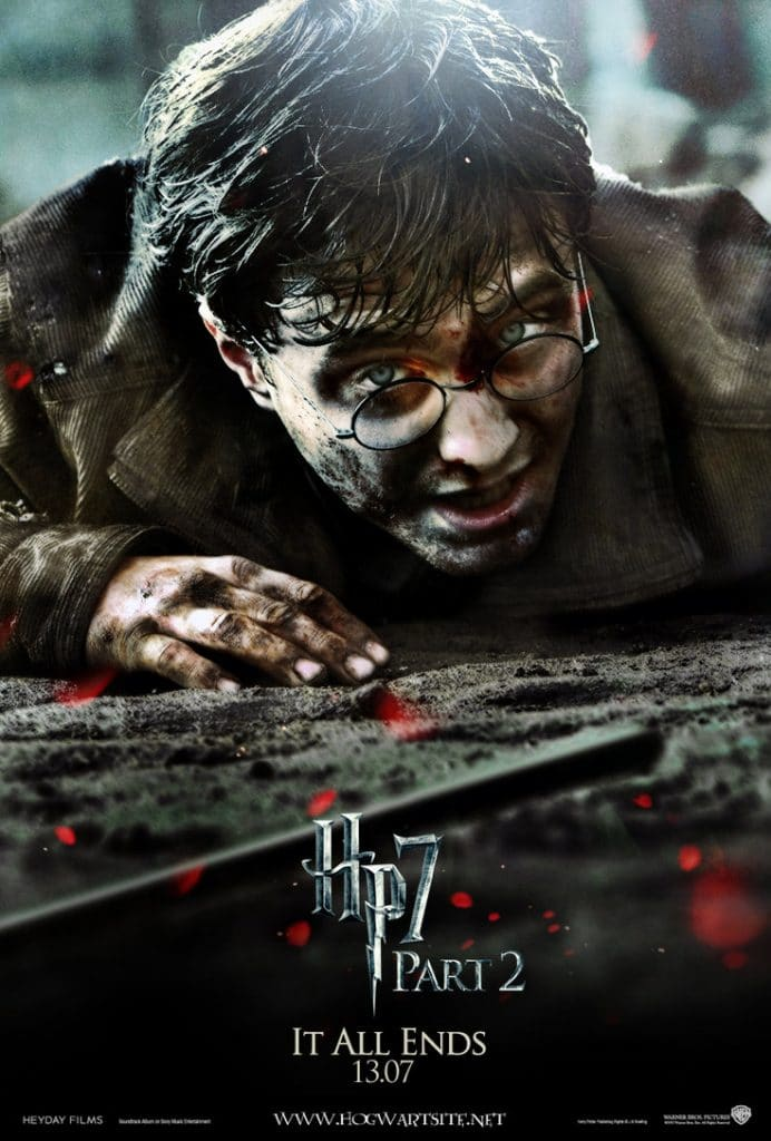 harry potter poster the deathly hallows part 2 2011 high quality HD printable wallpapers defeated harry potter