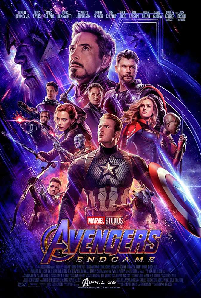Avengers Endgame Official Poster