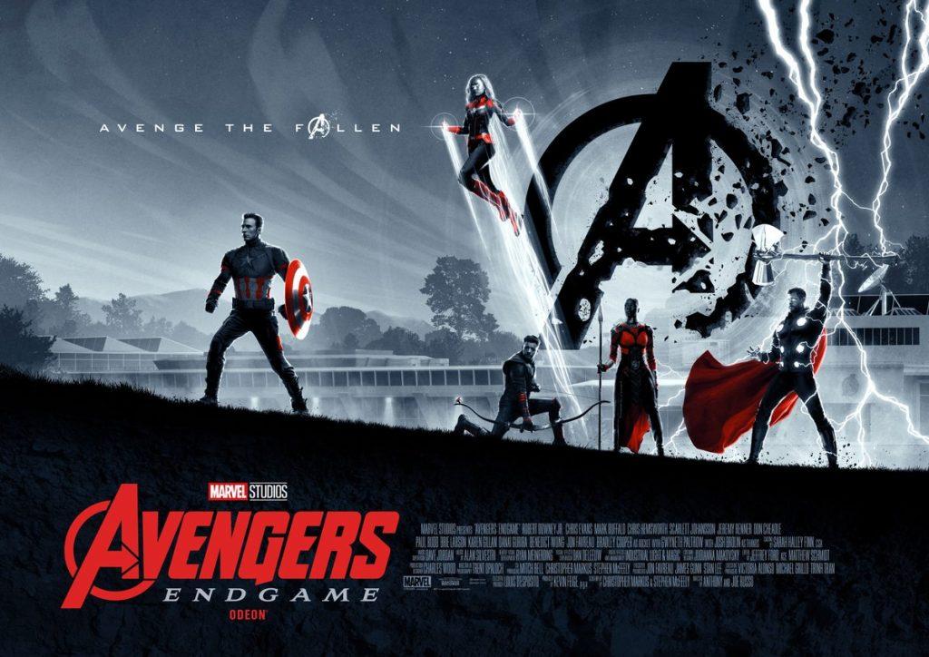 Avengers Endgame Posters Team Captain America