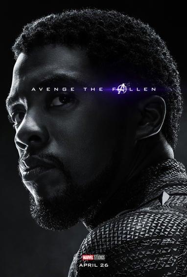 Black Panther Endgame Poster