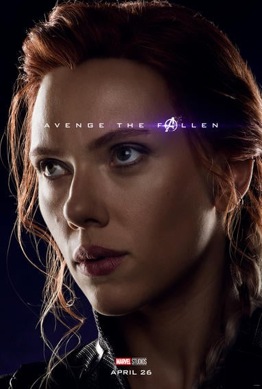 Black Widow Endgame Poster