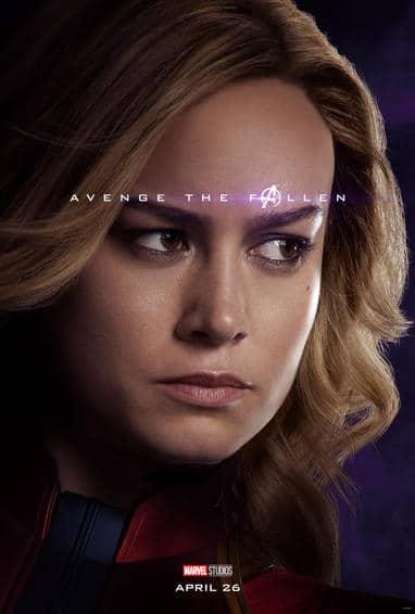 Captain Marvel Endgame Poster