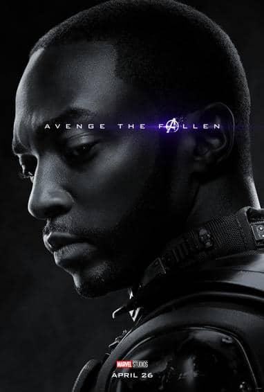 Falcon Endgame Poster