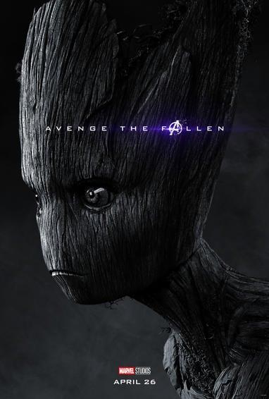 Groot Endgame Poster