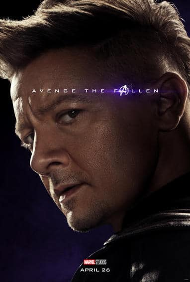 Hawkeye Endgame Poster