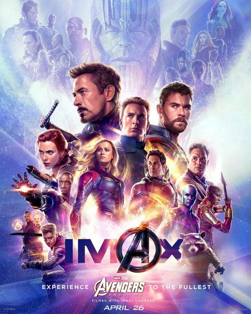 Imax Avengers Endgame Poster