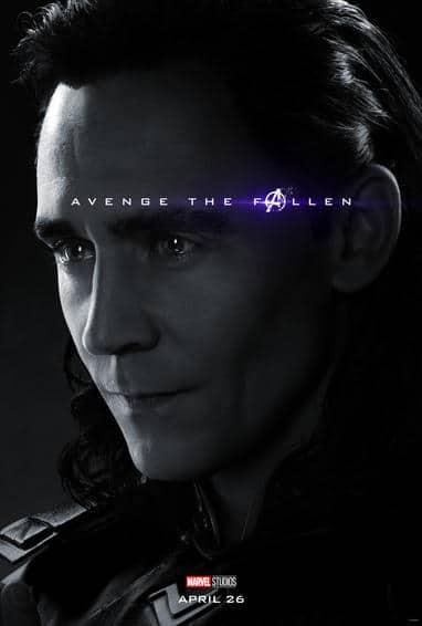 Loki Endgame Poster