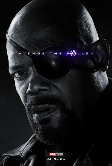 Nick Fury Endgame Poster