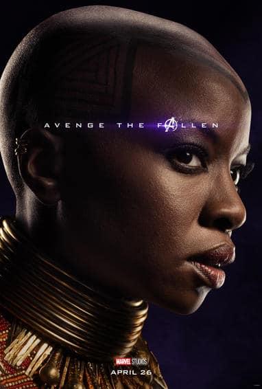 Okoye Endgame Poster