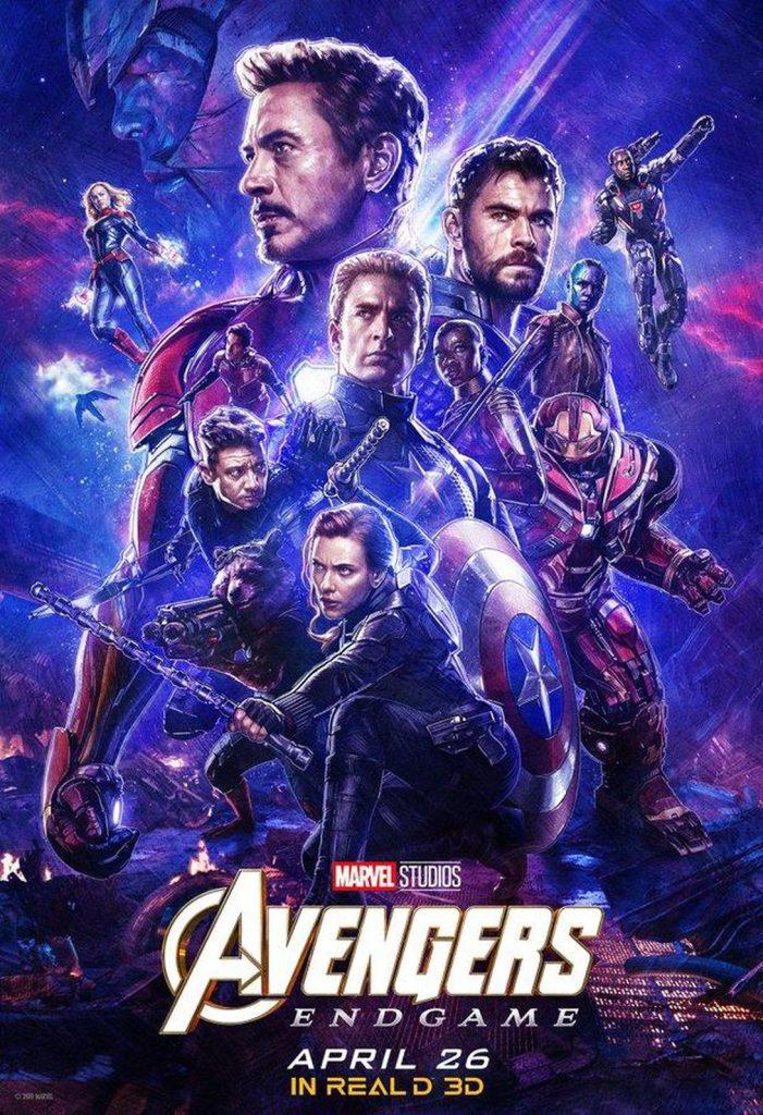 RealD 3D Avengers Endgame Poster