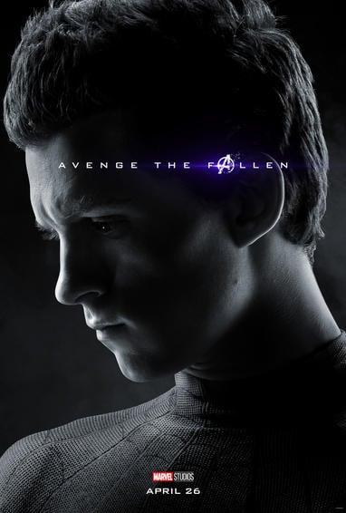 Spiderman Endgame Poster