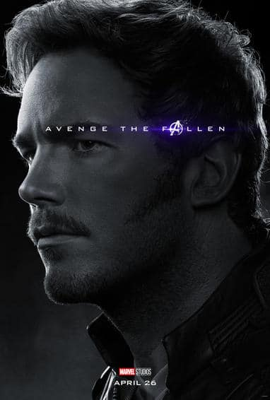Star Lord Endgame Poster