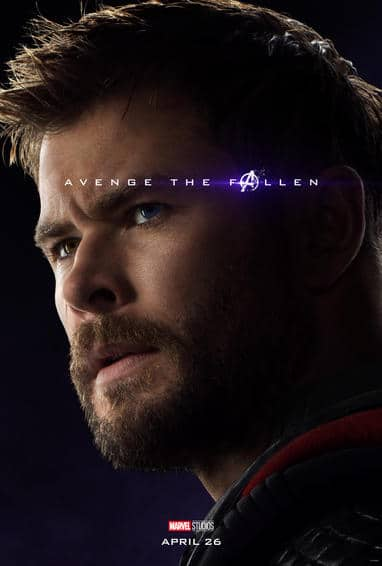 Thor Endgame Poster