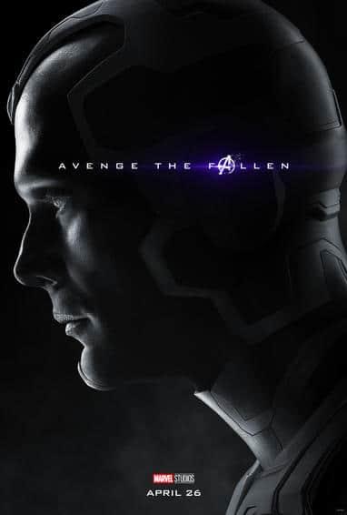 Vision Endgame Poster
