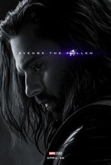 Winter Soldier Endgame Poster