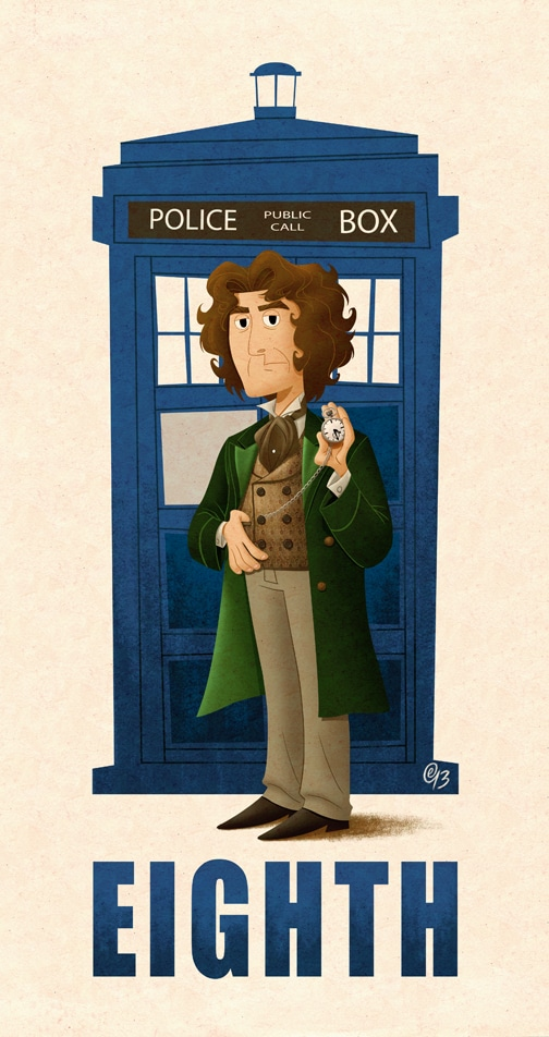 doctor who poster of eighth doctor